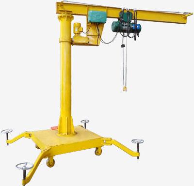 Top jib crane manufacturers provide floor jib crane and for Shop hoist plans